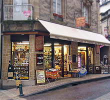 French corner shop as seen on European tours