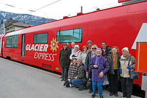 No rail tour of Europe is complete without a ride on the Glacier Express.