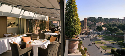 Hotel Forty Seven in the heart of classical Rome.