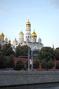 Beautiful Orthodox churches in Moscow