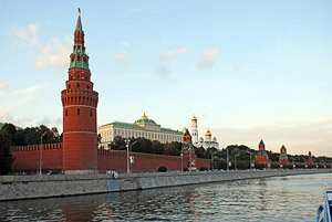 The Kremlin in Moscow on the Eastern European Capitals Tour